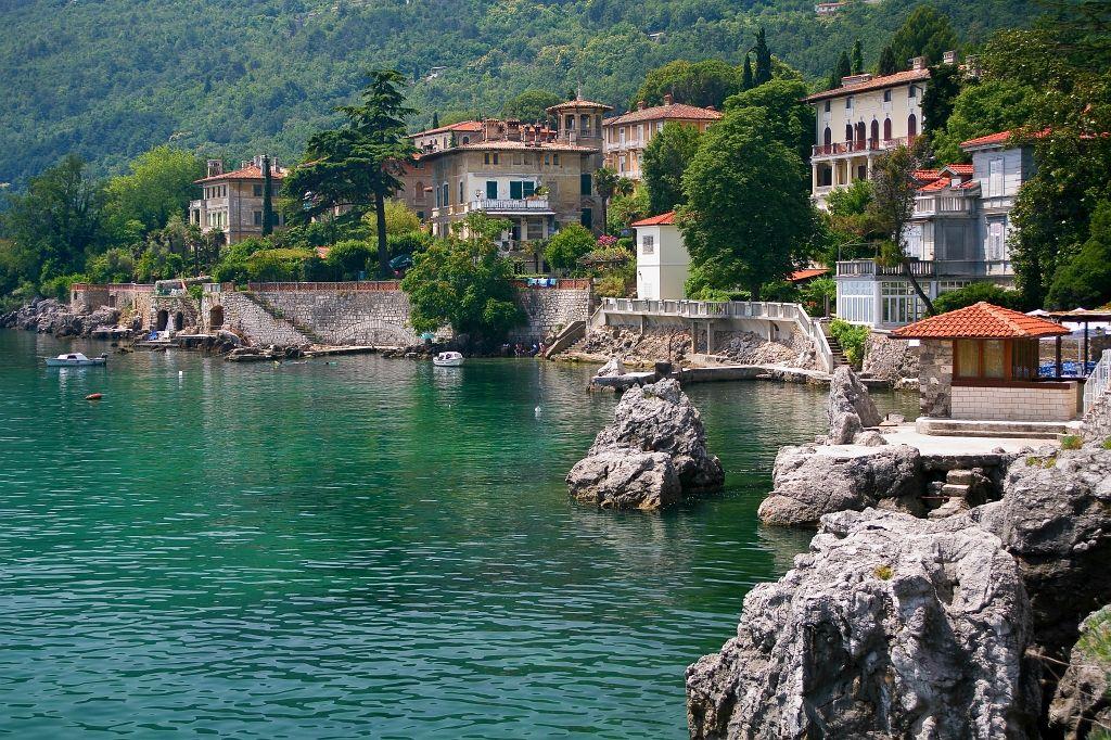 Urlaub an der Opatija Riviera
